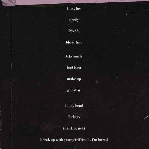 thank u next, ariana, ariana grande, ari, album, tracklist