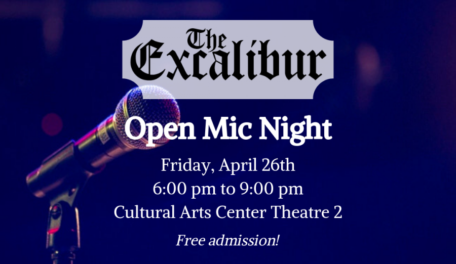The Excalibur Is Hosting An Open Mic Night!