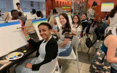 The Arts at MC: Spreading Positivity through Student Paint Nite