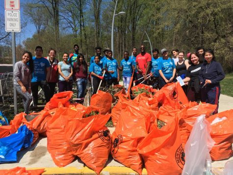 Long Branch Clean Up